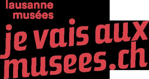 Logo jevaisauxmusées.ch / lausanne musées