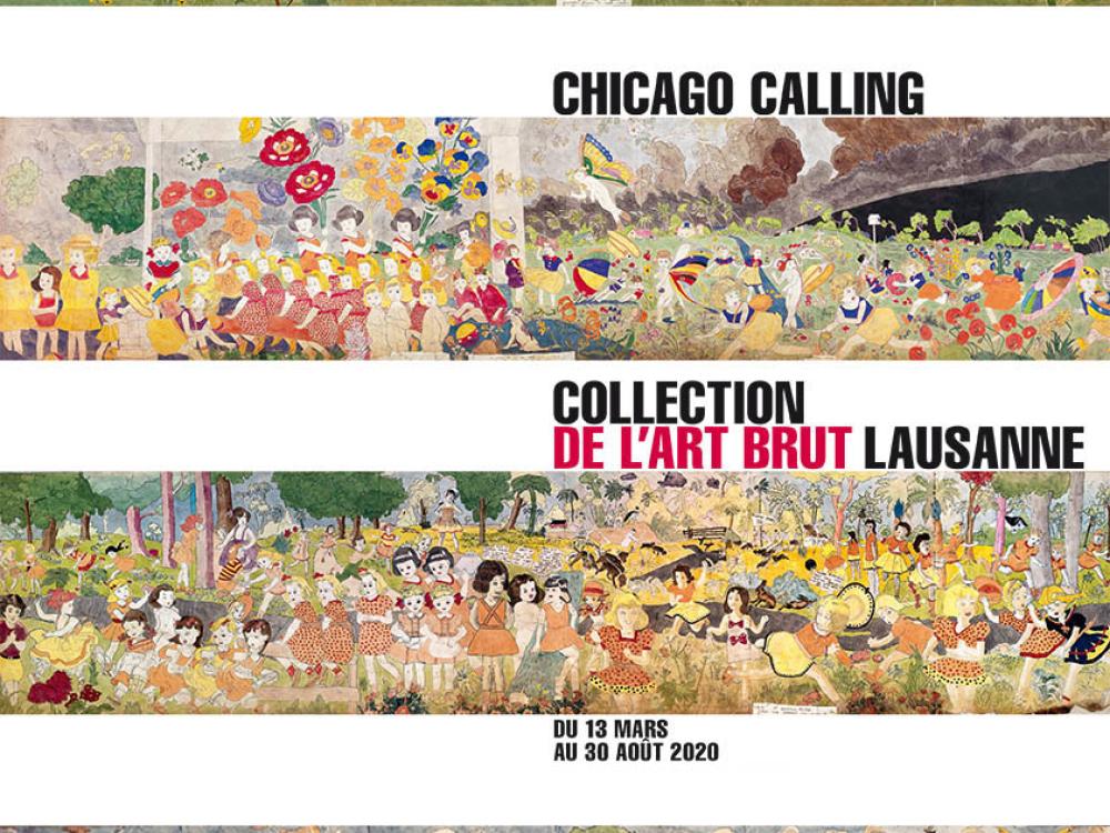 visuel affiche chicago henry darger