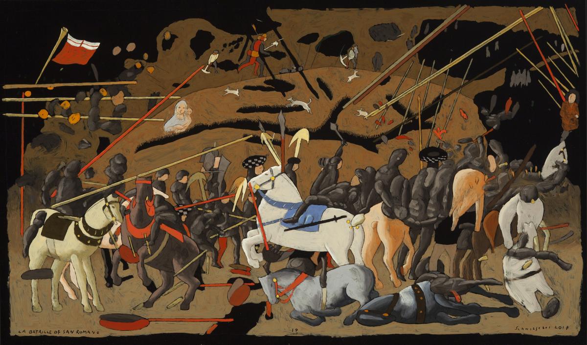 La bataille de San Romano Georges Schwizgebel Georges Schwizgebel