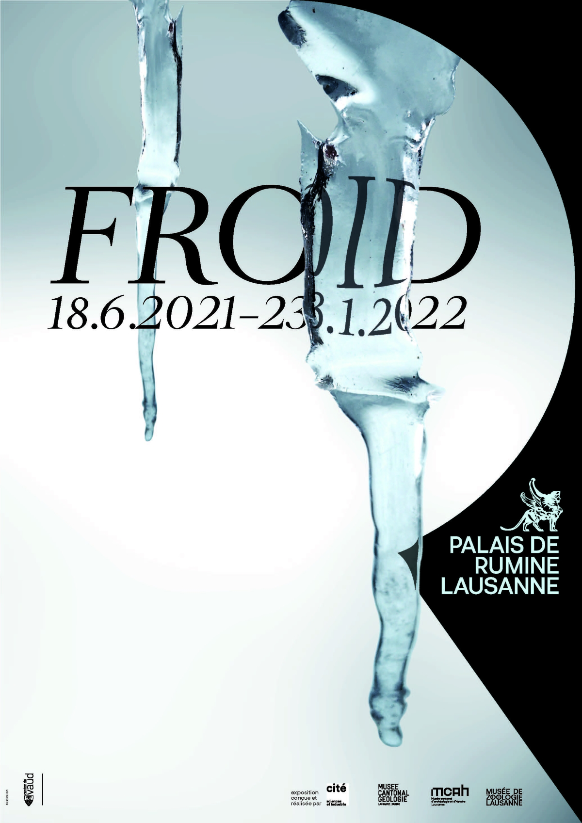 Affiche expo Froid Agence Enzed Agence Enzed
