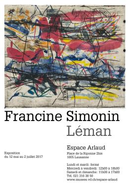 Francine Simonin - Lake Geneva