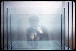 Dan Graham Project for Slide Projector 1966-2005 Dan Graham © Dan Graham courtesy Marian Goodman Gallery Collection Astrid Ullens de Schooten Fondation A Stichting Bruxelles