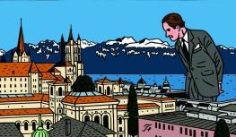 Lausanne en BD