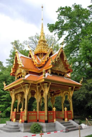Le pavillon royal thailandais
