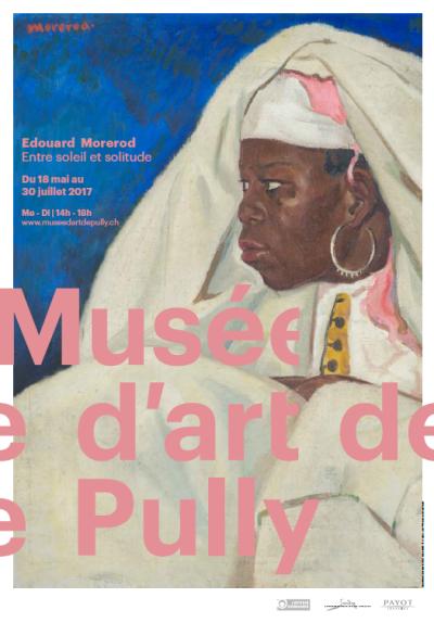 """Edouard Morerod, """"Sénégalaise de profil (détail)"""", s.d., huile sur toile, 60 x 73 cm, collection privée © Photo : Jacques Dominique Rouiller © Photo : Jacques Dominique Rouiller"""