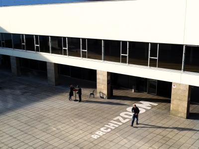 Bâtiment SG-EPFL Entrée Archizoom Paolo De Jesus Paolo De Jesus