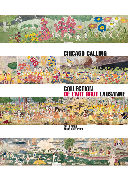 visuel affiche chicago henry darger
