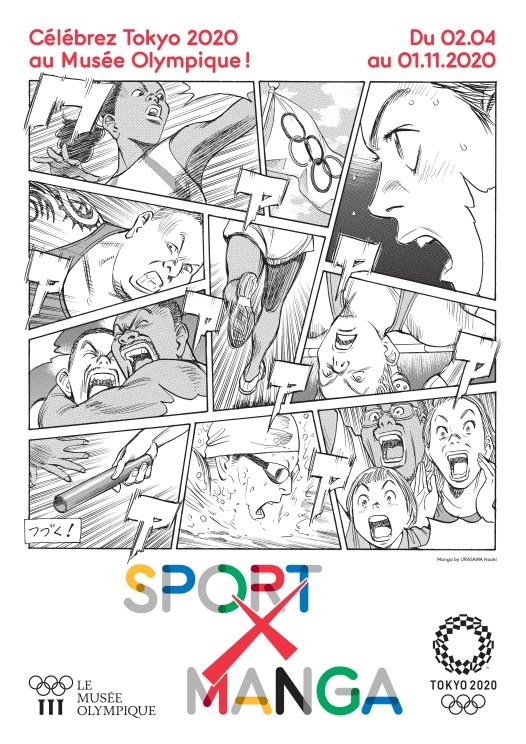 SPORT X MANGA-Ouverture de l'exposition REPORTÉE à 2021!!