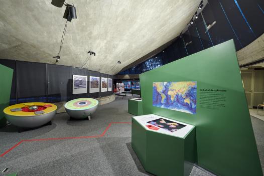 Exposition Tic tac tectonique Didier Oberson