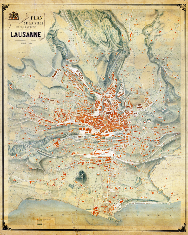 The Living City - Park Systems from Lausanne to Los Angeles