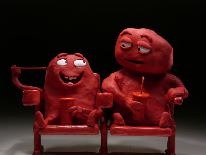 Bill & Tony, 2015, film d'animation, film publicitaire pour Coca Cola, 3 x 30'', sans dialogue Nick Donkin Nick Donkin