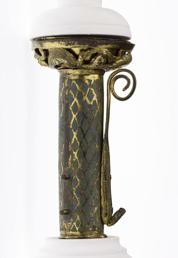 Douille de crosse d'un abbé de Montheron MHL