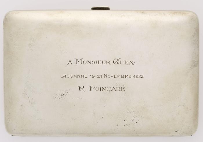 Etui à cigarettes de Raymond Poincaré MHL