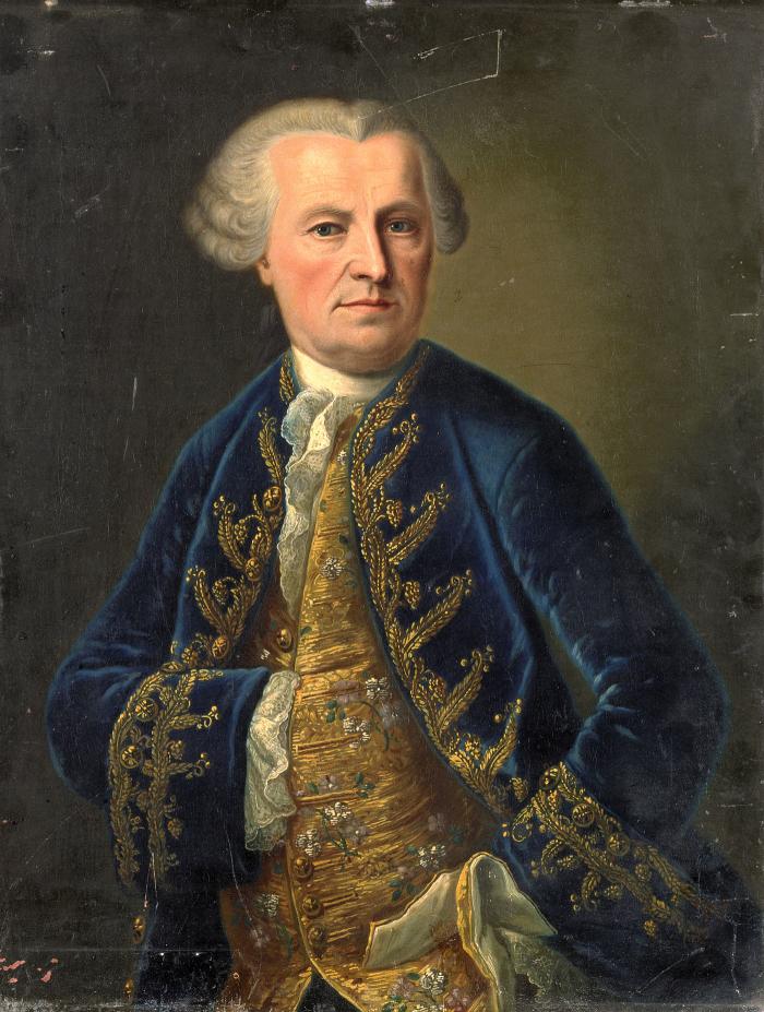 François de Seigneux, 1764 Musée historique Lausanne Musée historique Lausanne
