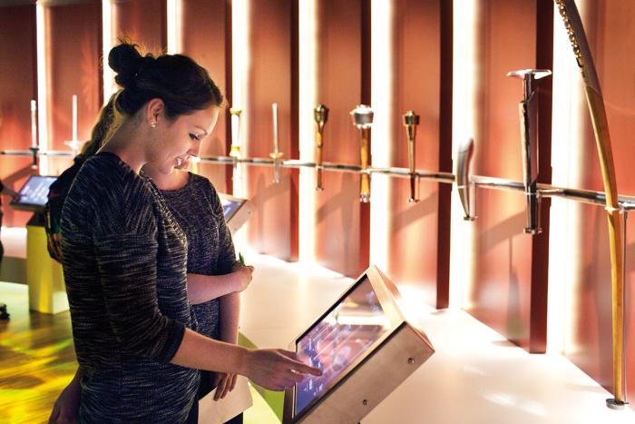 Le Musée Olympique - exposition permanente Lydie Nesvadba CIO