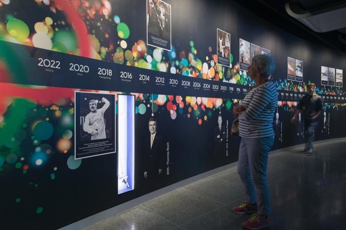 Le Musée Olympique - exposition permanente CIO