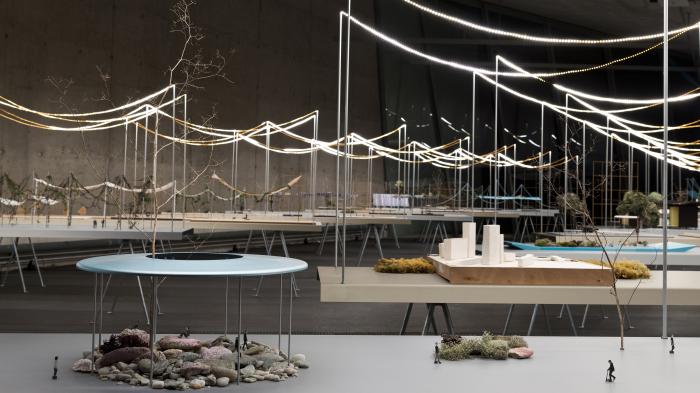 Rêveries Urbaines Vue de l'exposition au Vitra Design Museum Studio Bouroullec