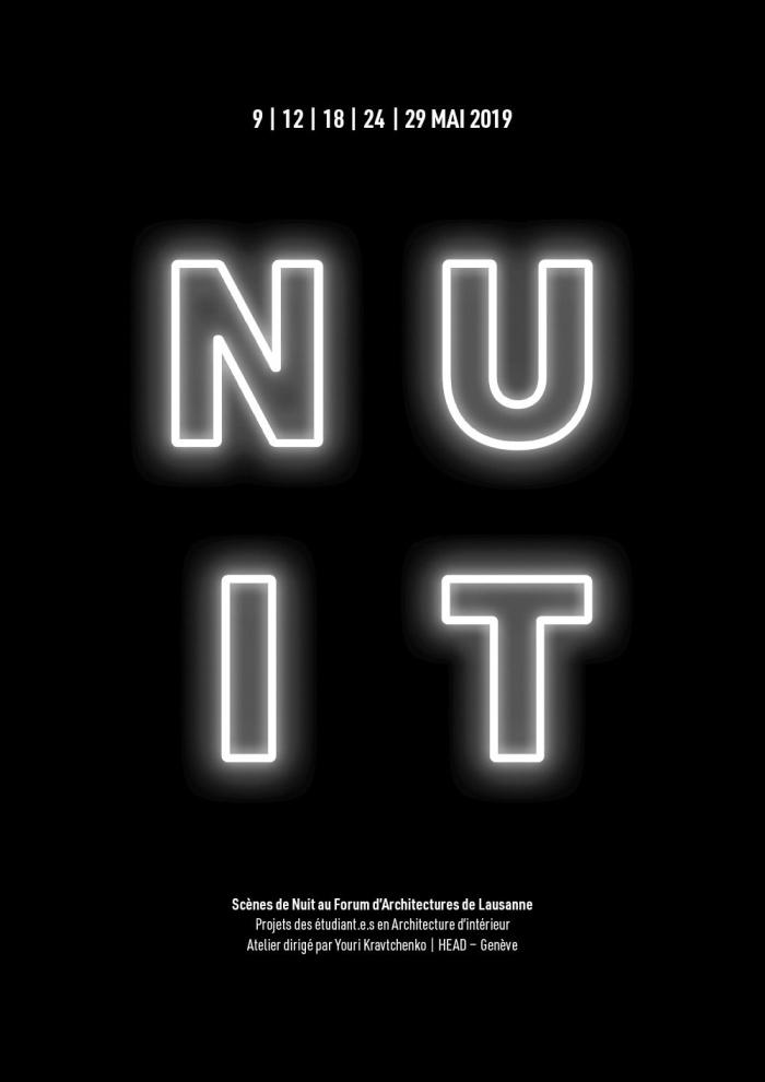 affiche Scènes de nuit f'ar f'ar