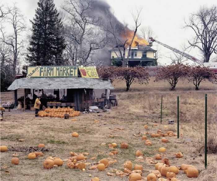 Joel Sternfeld, The Present Environmental Predicament, tiré de la série American Prospects, 1987