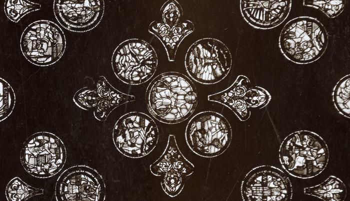 André Schmid, la rose de la cathédrale, 1862 MHL