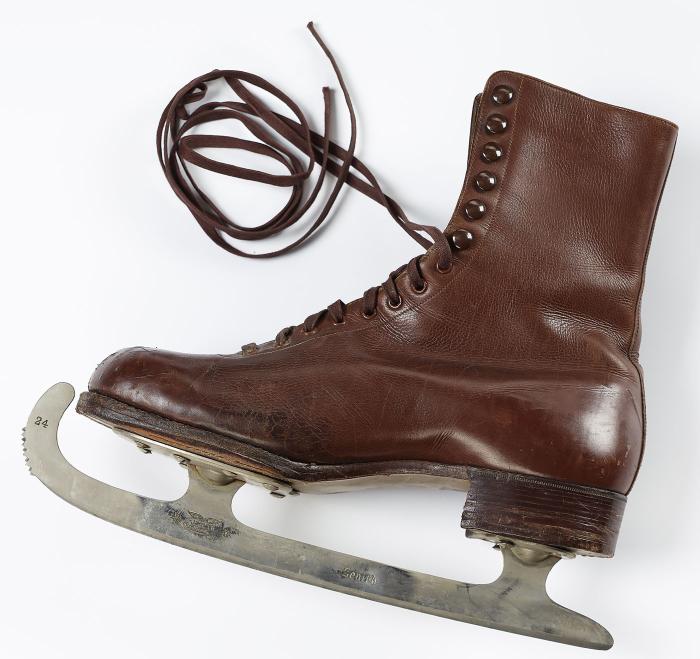 Paire de patins à glace, Bally/Zenith MHL