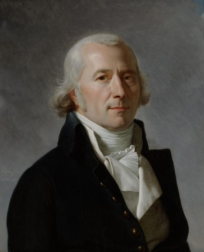 Augustin Pajou, Portrait de Frédéric-César de la Harpe, huile sur toile, 1803 Musée Historique Lausanne