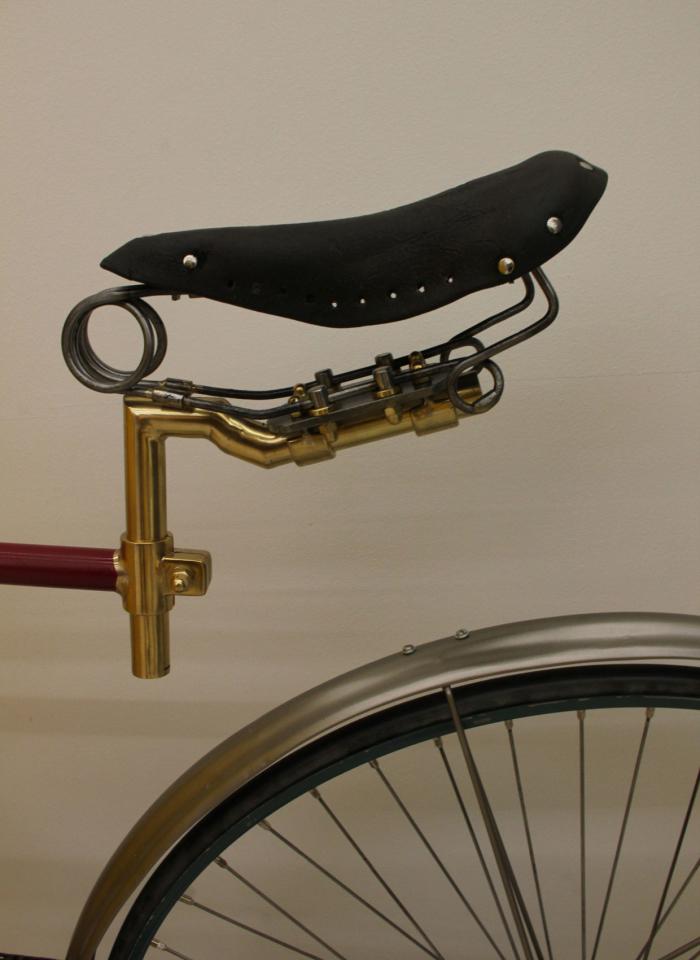 Vélo «Hirondelle», 1886, Terrot (Dijon, France) Musée du Vélo, Fribourg