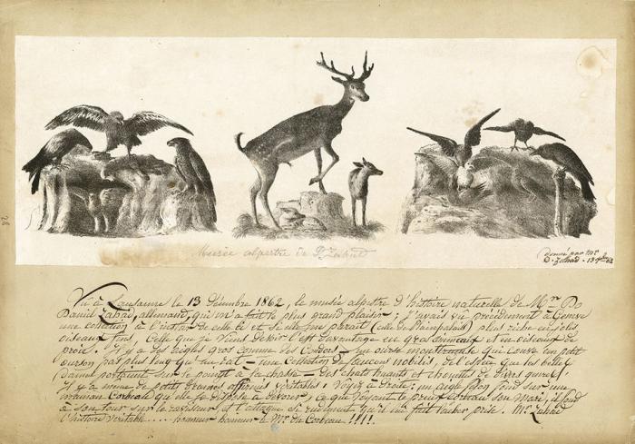Journal d'Henriette d'Angeville, 1862-1865, Musée alpestre de D. Zahad Musée Historique Lausanne