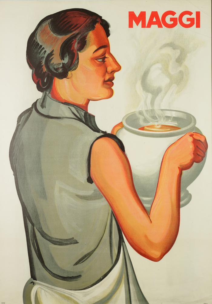 Anonyme, Affiche Maggi, lithographie, vers 1940 Musée Historique Lausanne