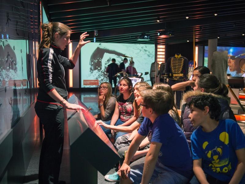 Le Musée Olympique - visite coachée (jeune public) CIO
