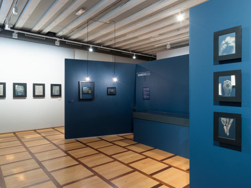Vue de l'exposition La Mémoire du futur, 2016 Yannick Luthi © Yannick Luthi